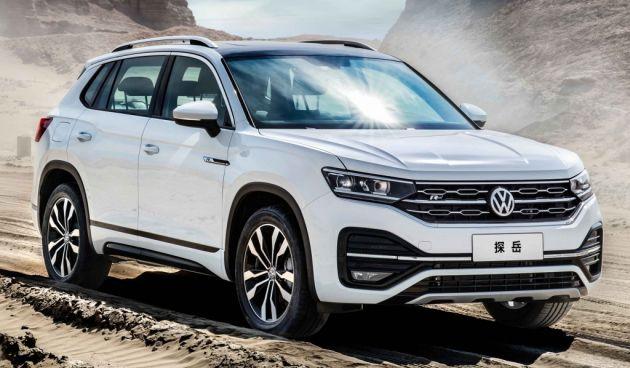 Volkswagen Tharu And Tayron Suvs Join China Line Up