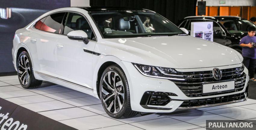 <em>paultan.org</em> PACE 2018: Volkswagen Arteon previewed Image #882933