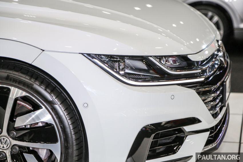<em>paultan.org</em> PACE 2018: Volkswagen Arteon previewed Image #882942