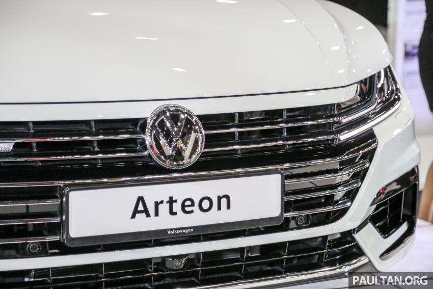 <em>paultan.org</em> PACE 2018: Volkswagen Arteon previewed Image #882944