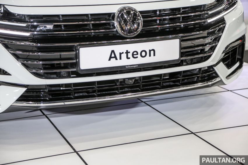 <em>paultan.org</em> PACE 2018: Volkswagen Arteon previewed Image #882945