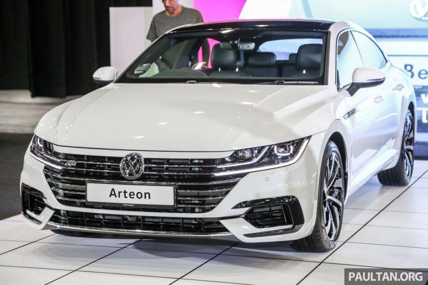 <em>paultan.org</em> PACE 2018: Volkswagen Arteon previewed Image #882934
