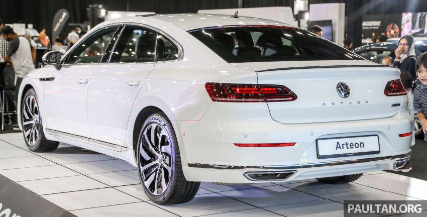<em>paultan.org</em> PACE 2018: Volkswagen Arteon previewed Image #882935