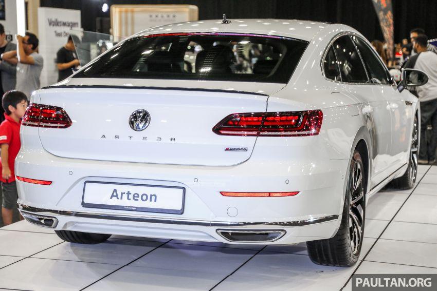 <em>paultan.org</em> PACE 2018: Volkswagen Arteon previewed Image #882936