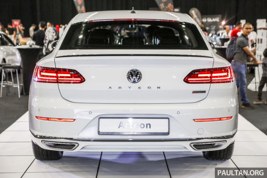 <em>paultan.org</em> PACE 2018: Volkswagen Arteon previewed Image #882938