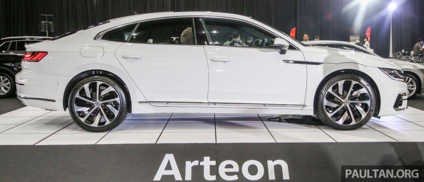 <em>paultan.org</em> PACE 2018: Volkswagen Arteon previewed Image #882939