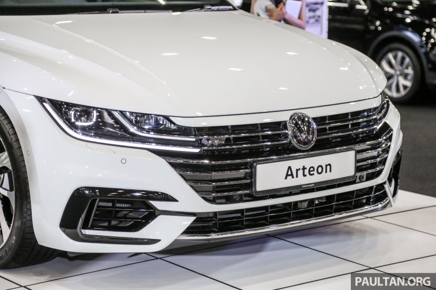 <em>paultan.org</em> PACE 2018: Volkswagen Arteon previewed Image #882940