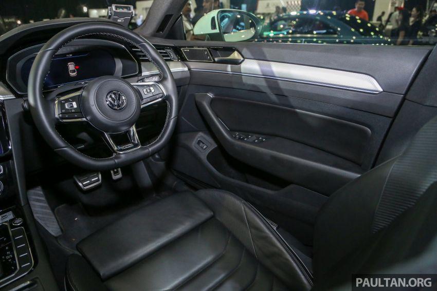 <em>paultan.org</em> PACE 2018: Volkswagen Arteon previewed Image #882980