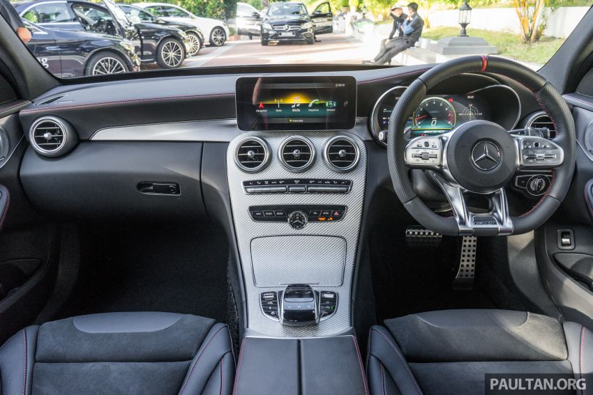 W205 Mercedes-AMG C43 4Matic facelift launched in Malaysia – more power, new styling, RM421,888 Image #883896