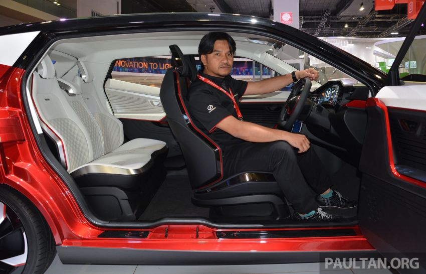 Perodua X-Concept – we chat with Muhamad Zamuren, the chief designer behind P2's new design language Image #896062