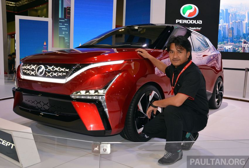 Perodua X-Concept – we chat with Muhamad Zamuren, the chief designer behind P2's new design language Image #896065