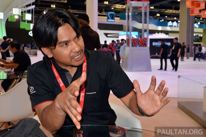 Perodua X-Concept – we chat with Muhamad Zamuren, the chief designer behind P2's new design language Image #896067