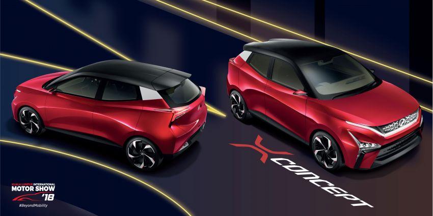 KLIMS18: Perodua X-Concept – P2's future hatchback Image #891774