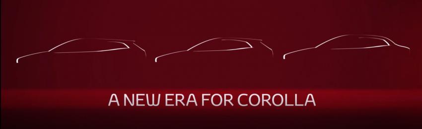 Toyota Corolla sedan 2019 diperkenal di China 16 Nov Image #886779