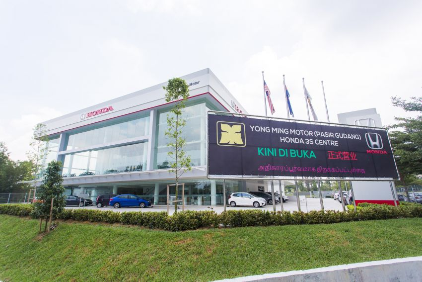 Honda Malaysia opens its 12th dealership in Johor Image #900041