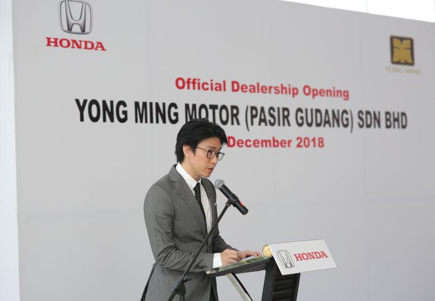 Honda Malaysia opens its 12th dealership in Johor Image #900053