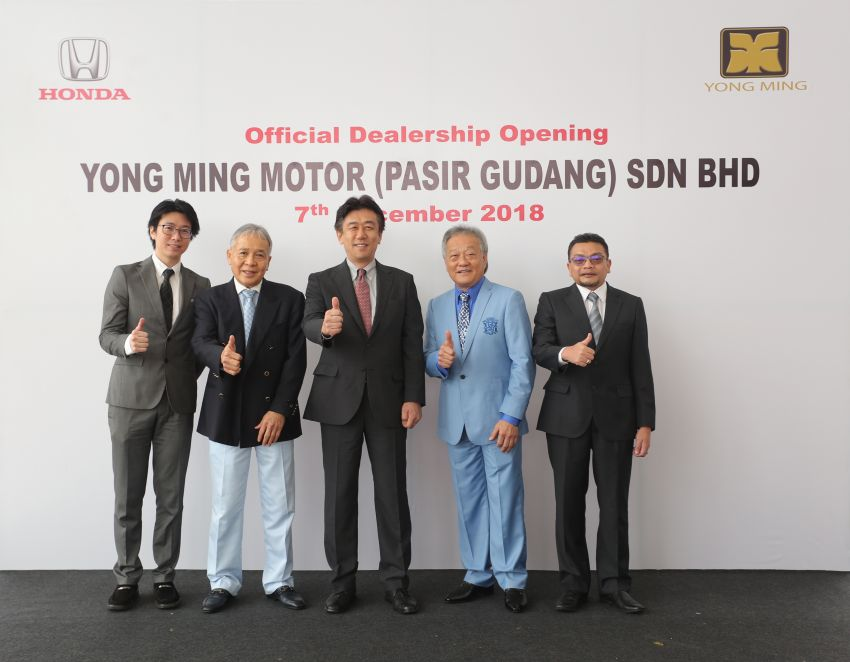 Honda Malaysia opens its 12th dealership in Johor Image #900056