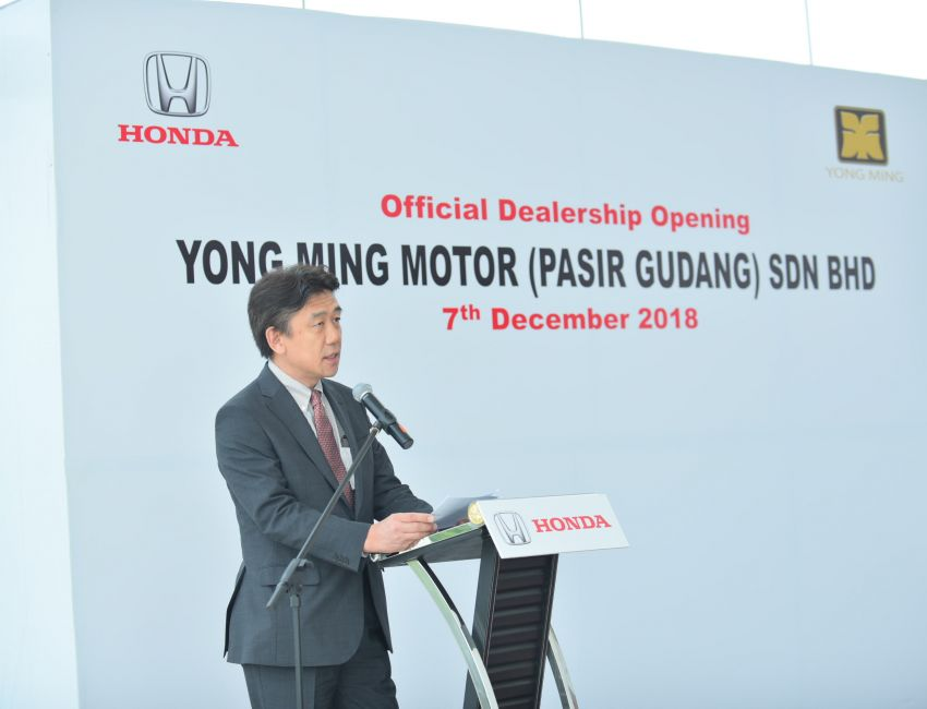 Honda Malaysia opens its 12th dealership in Johor Image #900059