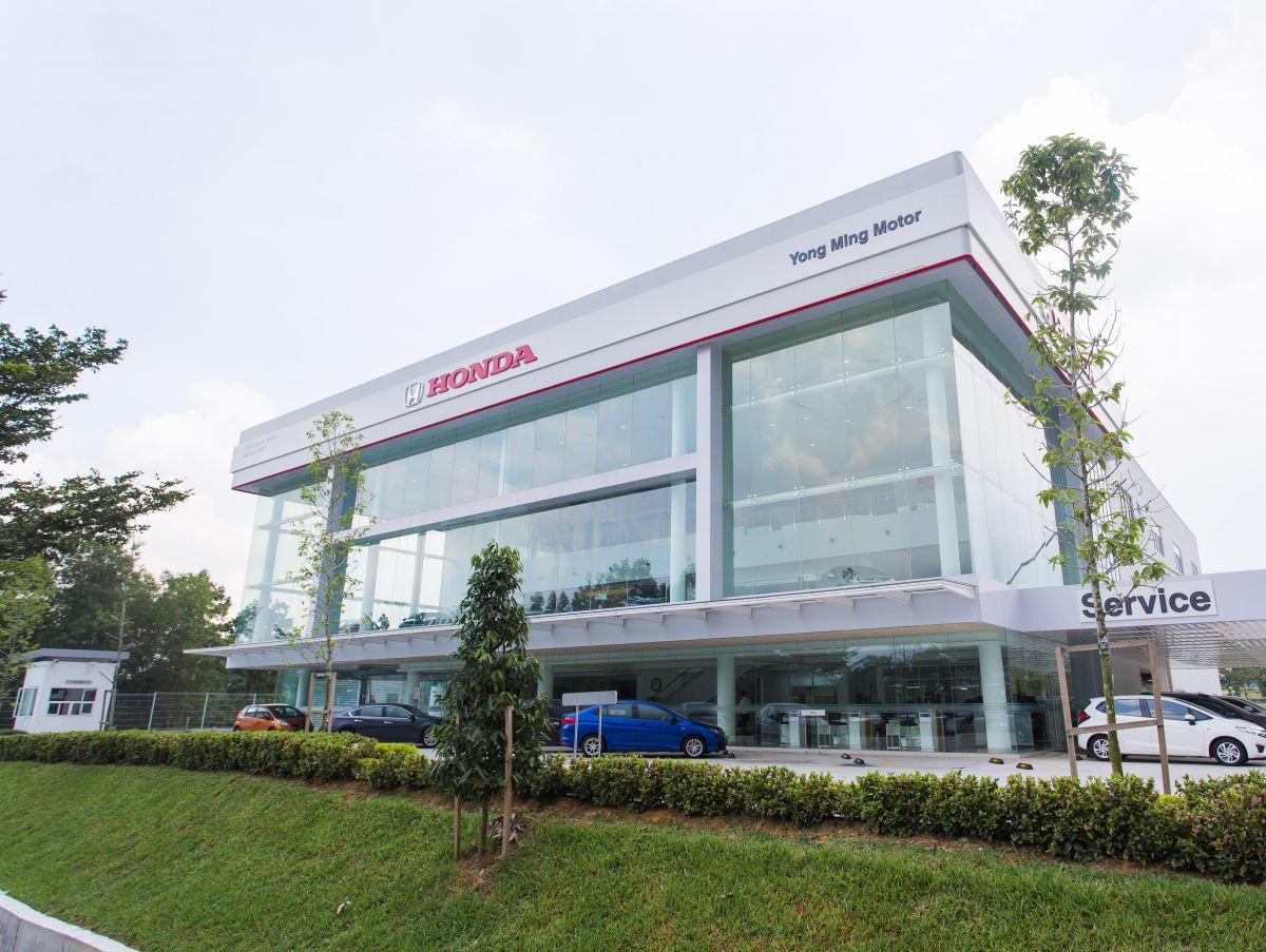 Honda Car Dealership >> Honda Malaysia buka pusat 3S ke-12 di Johor