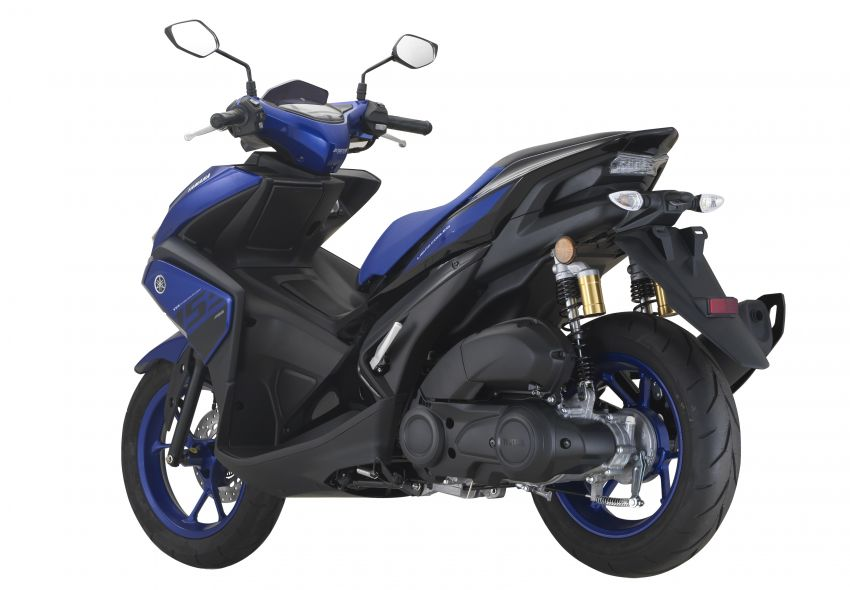 2019 Yamaha NVX in new colours – priced at RM9,988 Image #899484