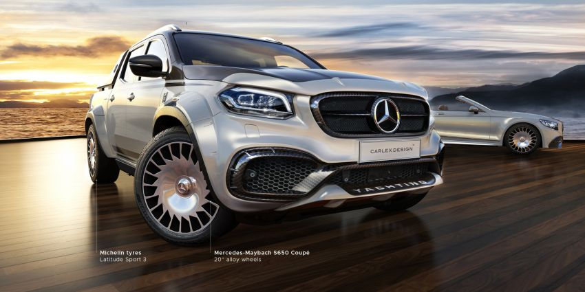 Carlex Design introduces range-topping Exy Yachting conversion kit for Mercedes-Benz X-Class – RM313k! Image #902811
