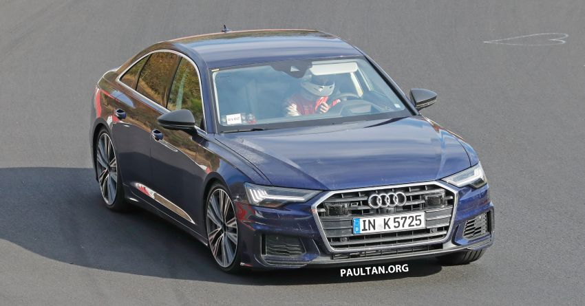 SPIED: Audi S6 sedan drops all camo, launch soon? Image #899516