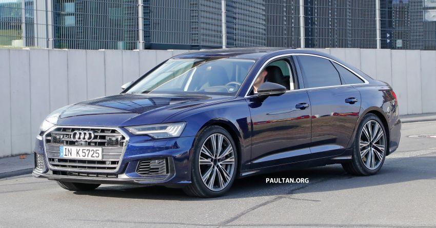 SPIED: Audi S6 sedan drops all camo, launch soon? Image #899526