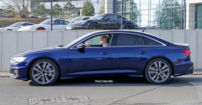 SPIED: Audi S6 sedan drops all camo, launch soon? Image #899528