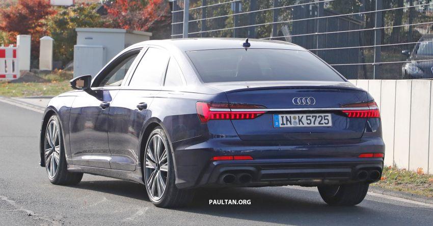 SPIED: Audi S6 sedan drops all camo, launch soon? Image #899531