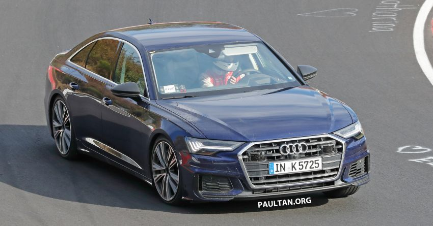 SPIED: Audi S6 sedan drops all camo, launch soon? Image #899518