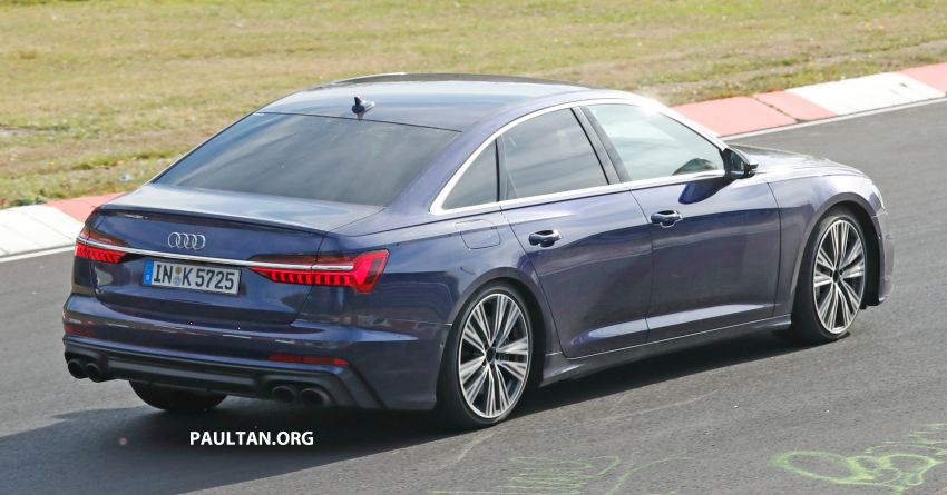 SPIED: Audi S6 sedan drops all camo, launch soon? Image #899522