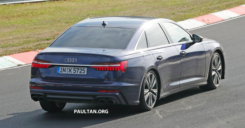 SPIED: Audi S6 sedan drops all camo, launch soon? Image #899523