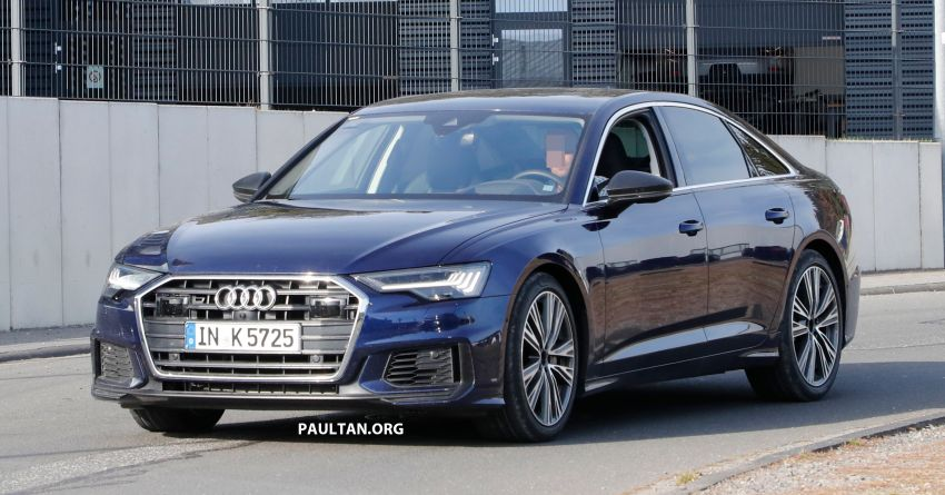 SPIED: Audi S6 sedan drops all camo, launch soon? Image #899524