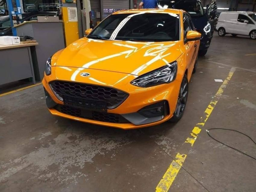 2019 Ford Focus ST undisguised ahead of world debut Image #899500