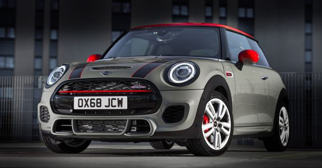 Mini Jcw Facelift Gets Updated With Particulate Filter
