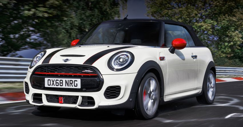 MINI JCW facelift gets updated with particulate filter Image #903749