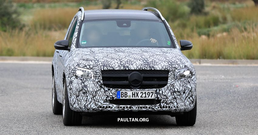 SPIED: 2019 Mercedes-AMG GLB 35 spotted testing! Image #898429