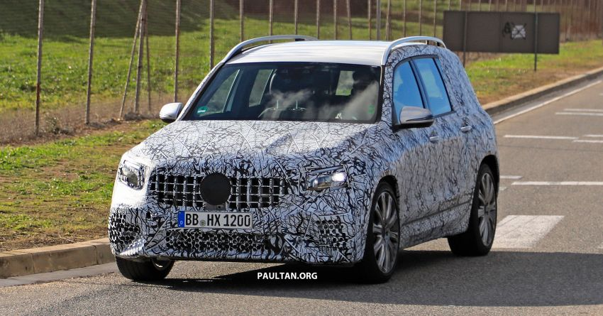 SPIED: 2019 Mercedes-AMG GLB 35 spotted testing! Image #898463