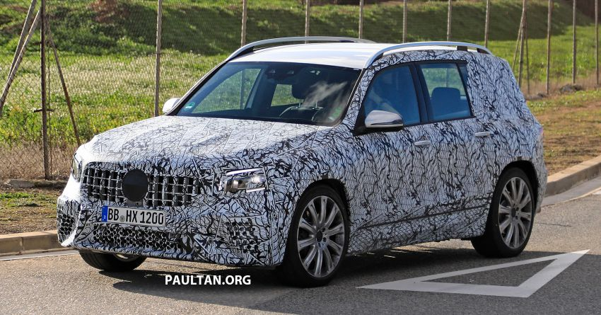 SPIED: 2019 Mercedes-AMG GLB 35 spotted testing! Image #898464
