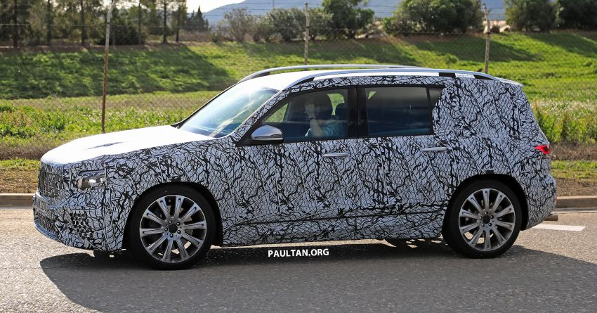 SPIED: 2019 Mercedes-AMG GLB 35 spotted testing! Image #898466