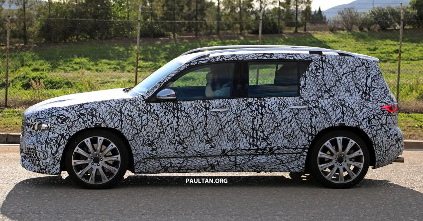 SPIED: 2019 Mercedes-AMG GLB 35 spotted testing! Image #898468