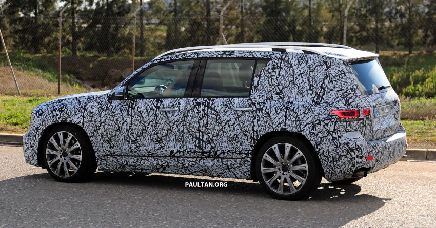 SPIED: 2019 Mercedes-AMG GLB 35 spotted testing! Image #898470