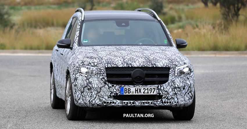SPIED: 2019 Mercedes-AMG GLB 35 spotted testing! Image #898430