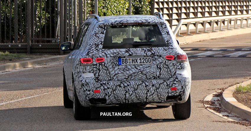 SPIED: 2019 Mercedes-AMG GLB 35 spotted testing! Image #898479
