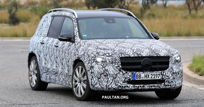 SPIED: 2019 Mercedes-AMG GLB 35 spotted testing! Image #898431