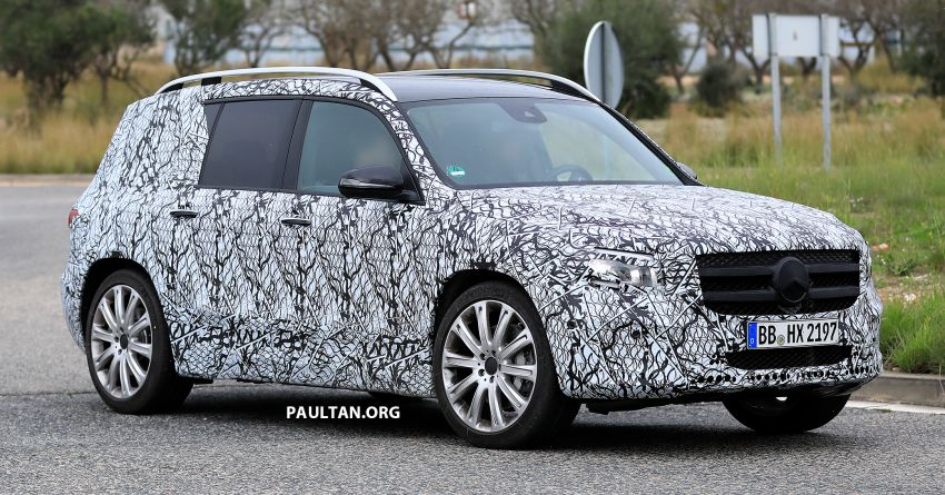 SPIED: 2019 Mercedes-AMG GLB 35 spotted testing! Image #898432