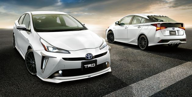 2019 Toyota Prius facelift now available with TRD parts