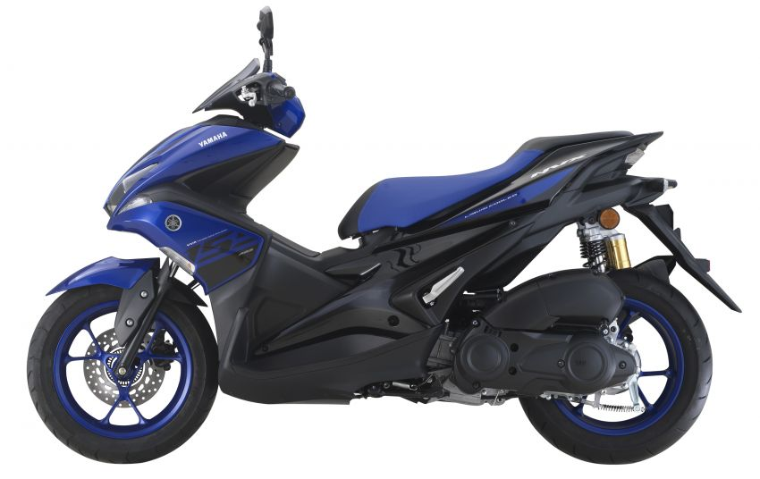 2019 Yamaha NVX in new colours – priced at RM9,988 Image #899478