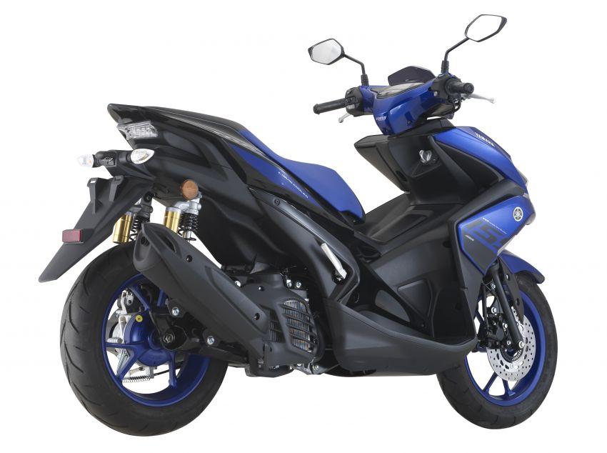 2019 Yamaha NVX in new colours – priced at RM9,988 Image #899483