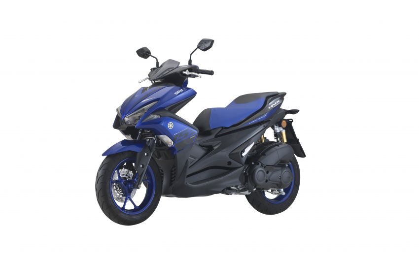 2019 Yamaha NVX in new colours – priced at RM9,988 Image #899485